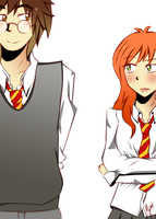 James and Lily: Hm by Sirio12