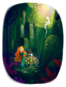 Into The Woods by Fairygodflea