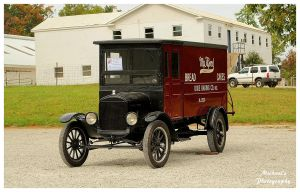 A 1925 Ford Model TT Delivery Van by TheMan268