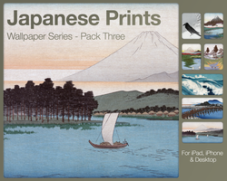 Japanese Prints Pack Three by city17