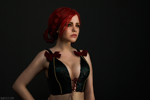 TW:WH - Lingerie - Triss by MilliganVick