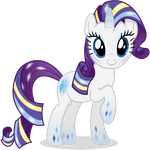 Rarity - Rainbowfied from Group Shot by CaliAzian