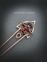 hairpin with quartz by nastya-iv83