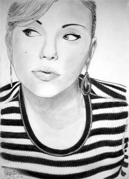 Scarlett Johansson drawing 2 by caiusaugustus