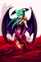 morrigan by LaRhsReBirTh