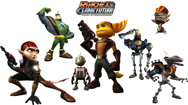 Ratchet and Clank Future wallpaper 2 by Ratchetfan2006