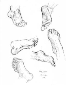 Foot study. by Aamilie