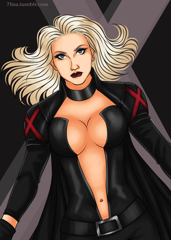 Emma Frost by 7Lisa