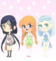 Pretty girl adopts closed by Teafairyadopts