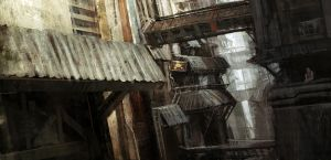 Alley tranquil by leventep