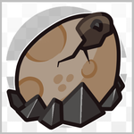 Egg Fossil by Dragonith