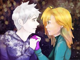 Sophie and Jack Frost by PsycoMurderEffect