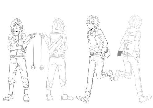 character design male - 1 by 1001yeah