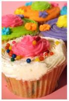 Party Cupcake by iamtinkerbell