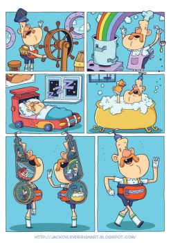 Uncle Grandpa - Halves by lost-angel-less