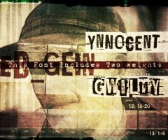 Fonts 'Ed_Gein' by bumbayo