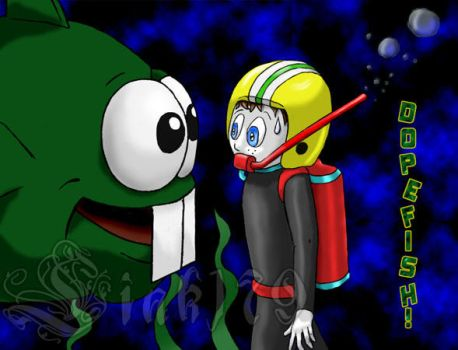 Dopefish by Link179
