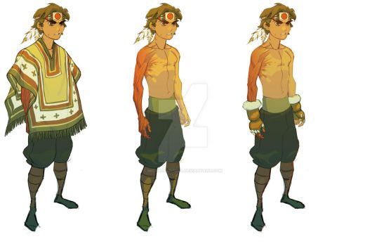 Project: OPUS R Character Design by MicahJGunnell