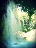 waterfall by sadeceilay
