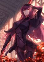 Scathach by jacky5493