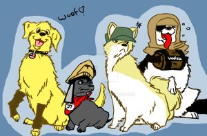 NZ Puppehs by Brani-Chan