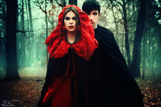 Little Red Riding Hood II - The Encounter by iNeedChemicalX