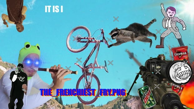 it is i the frenchiest fry.png by foxgamer383