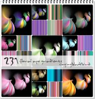 231 Floral Apo Gradients by barefootphotos