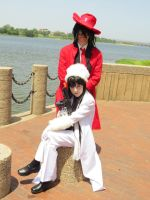 Girlycard and Alucard 1 by JaneReaction