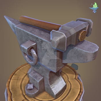 Anvil with Hammer by BenFlex