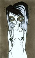 Anorexia Nervosa by Lottifant
