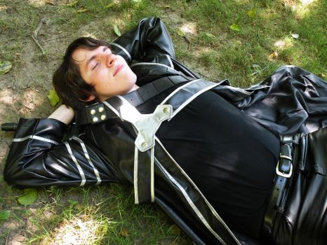 Kirito Napping in Aincrad by WillFactorMedia