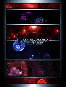 Fractal Pack 1 by greentunic