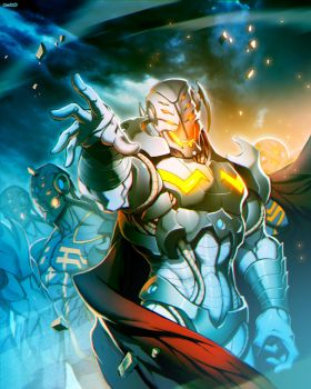 Ultron by GENZOMAN