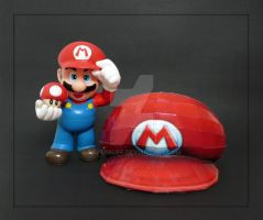 Mario's Hat Papercraft by PaperBuff