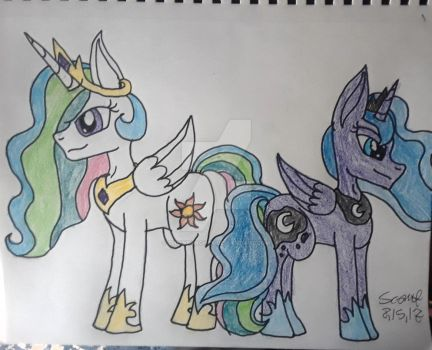The Royal Sisters by PsychoScoutAndMedic