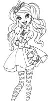 duchess swan coloring pages - photo#23