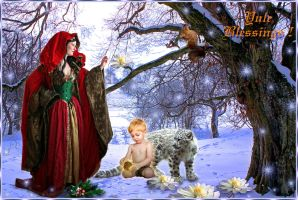 Yule Greetings by ScraNo