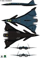 F-58A Hammer by bagera3005