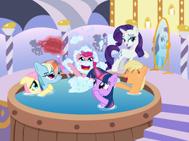 Tub Time by Bronytoss