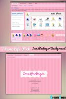 Tema IconPackager Background Life Pink by CreateYouu