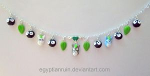 My Neighbor Totoro Anklet by egyptianruin