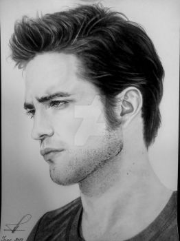 Robert Pattinson by OXANADVA