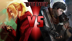 Edward Elric vs Guts by Dynamo1212