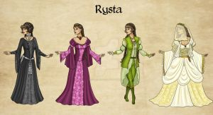 Rysta Outfits by Captain-Savvy