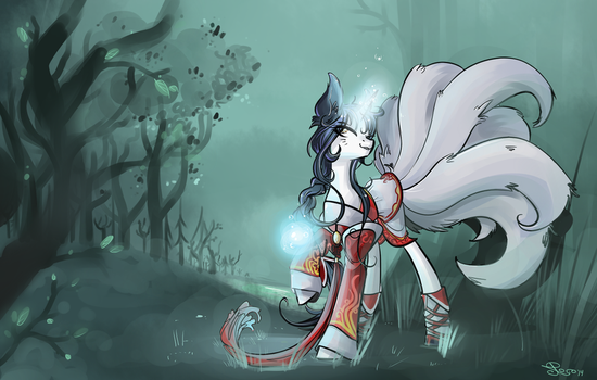 Ahri by NastyLady