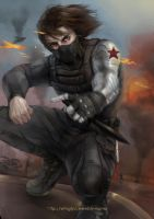 Captain America - The Winter Soldier by WinglyC