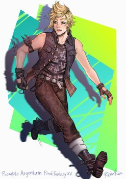 Prompto  Argentum FFXV commission by RerinKin