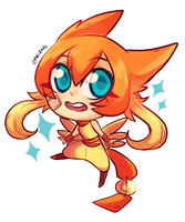 Chibi Sheng Li  by ShounenRaccoon