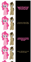 Pinkie and The Doctor say goodnight! by Undead-Niklos